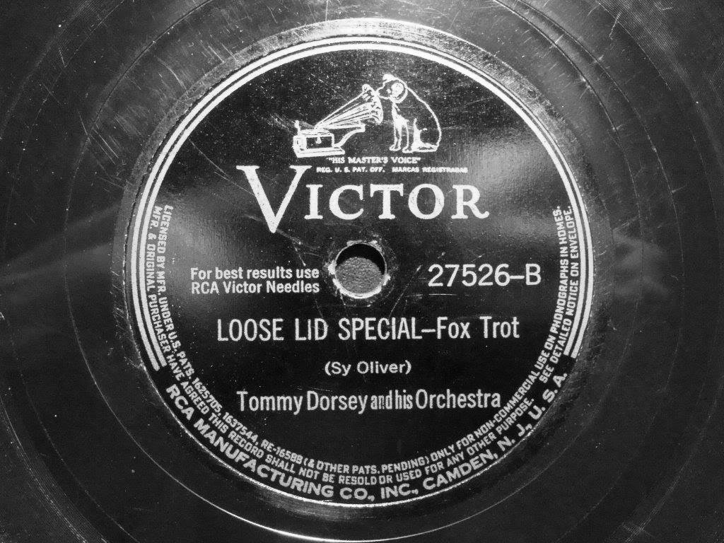 """Loose Lid Special"" (1941) Tommy Dorsey"